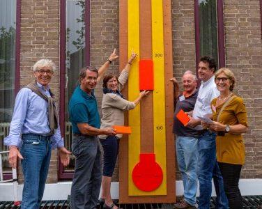 Veiling Dorpscentrum Oegstgeest brengt tienduizend euro op